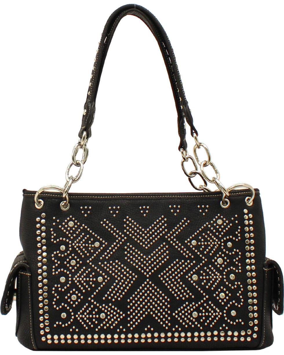 Blazin Roxx Women's Stud Embellished Purse, Black, hi-res
