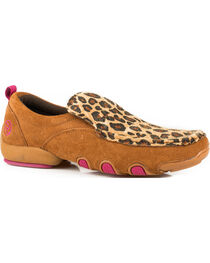 Roper Women's Tan Bailey Casual Driving Mocs , , hi-res