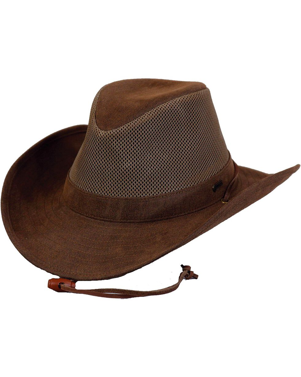 Outback Trading Men's Knotting Hill Canyonland Hat, Brown, hi-res