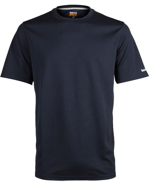 Timberland Pro Men's Short Sleeve Wicking T-Shirt, Navy, hi-res
