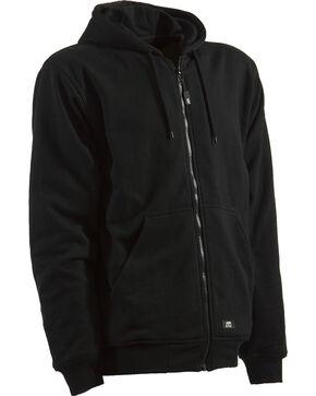 Berne Original Hooded Sweatshirt - 3XL and 4XL, Black, hi-res