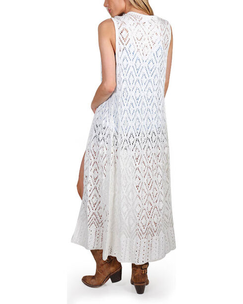 Shyanne® Women's Diamond Knit Fashion  Duster, Multi, hi-res