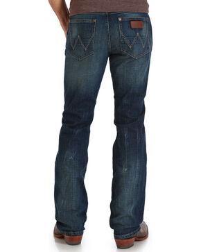 Wrangler Men's Indigo Retro Slim Jeans - Boot Cut , Indigo, hi-res