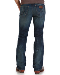 Wrangler Men's Indigo Retro Slim Jeans - Boot Cut - Long, , hi-res