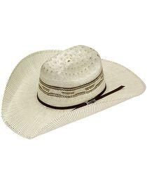 Twister Bangora Straw Cowboy Hat, , hi-res