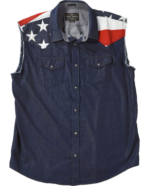Cody James® Men's Bubba Shirt, Navy, hi-res