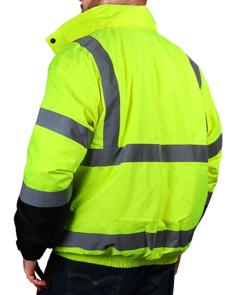 American Worker Men's 3-in-1 Bomber Jacket , Bright Yellow, hi-res