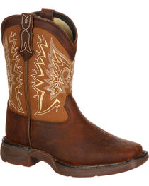 Lil' Durango Boys' Let Love Fly Western Boots, , hi-res