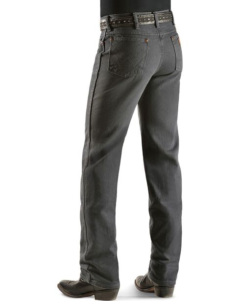 Wrangler Men's Slim Fit 936 Cowboy Cut Jeans, Charcoal Grey, hi-res