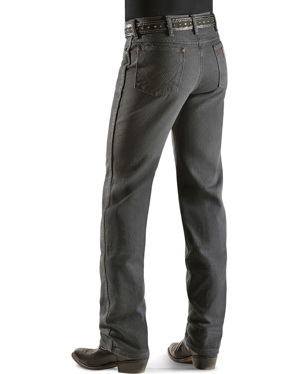 Wrangler Men's Slim Fit 936 Cowboy Cut Jeans, Charcoal Grey, hi-res