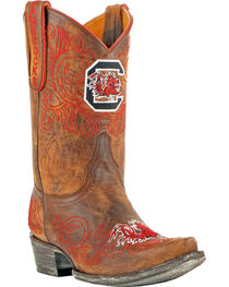 Gameday University of South Carolina Cowgirl Boots - Snip Toe, , hi-res
