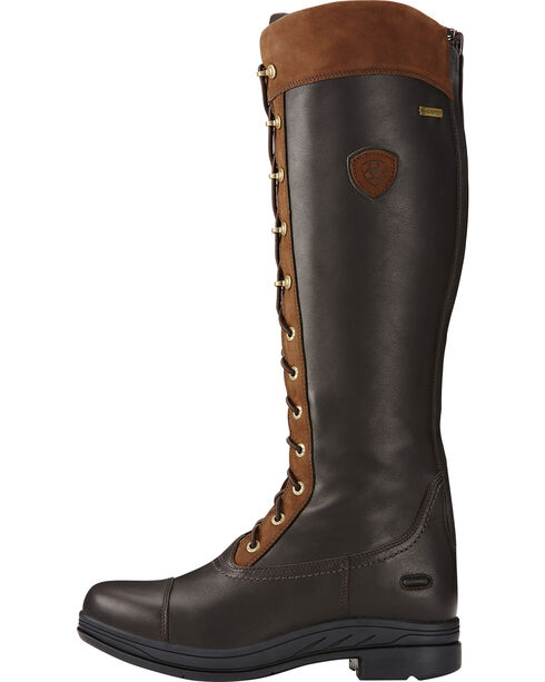 Ariat Women's Coniston Pro GTX Insulated English Boots, Brown, hi-res
