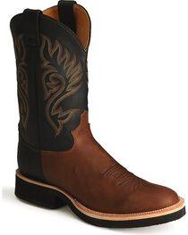 """Justin Men's 11"""" Tekno Crepe Western Boots, , hi-res"""