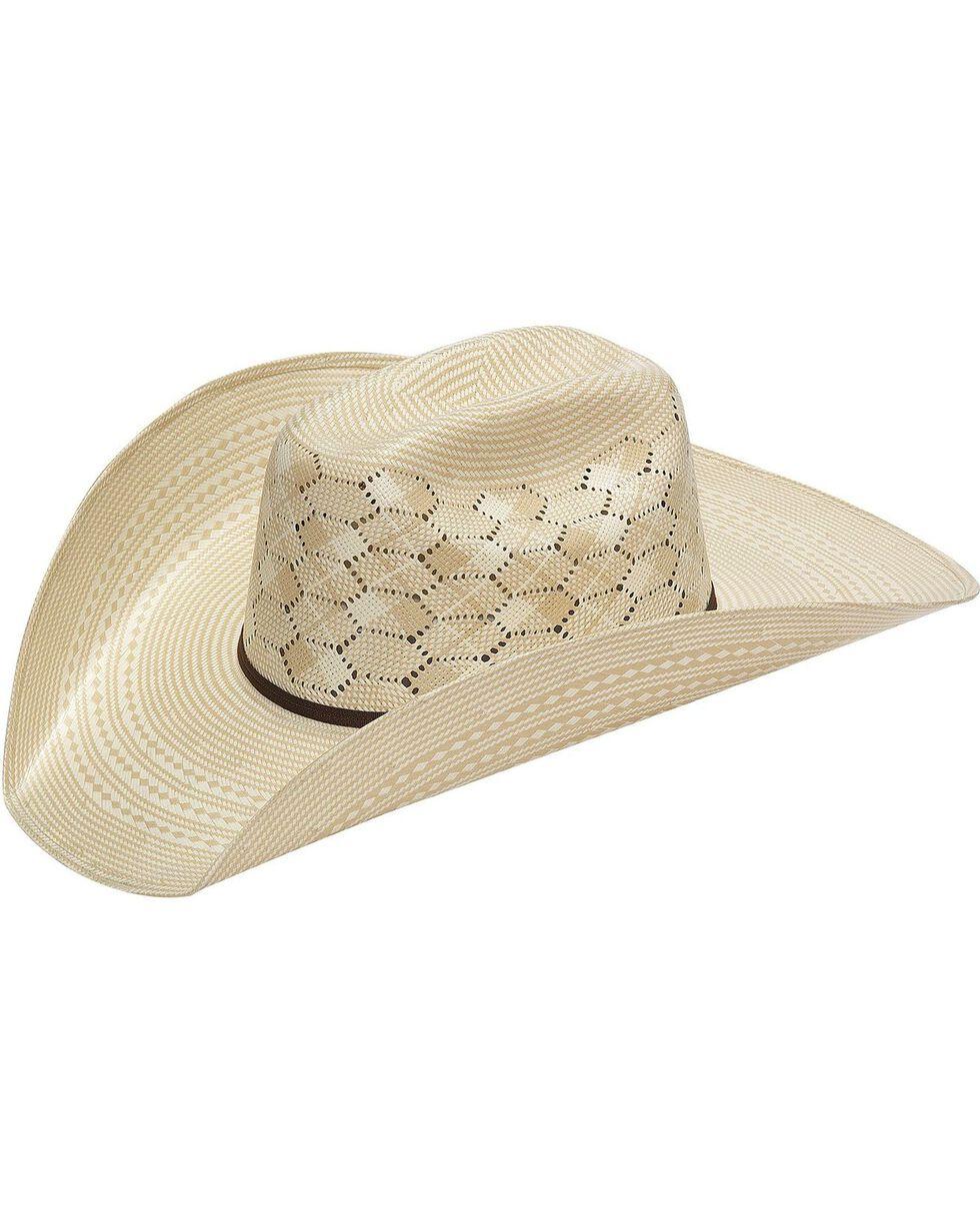 Twister 10X Hex Vent Straw Cowboy Hat, Natural, hi-res