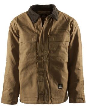 Berne Brown Duck Original Chore Coat - Tall 2XT, Brown, hi-res