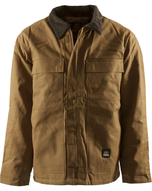 Berne Duck Original Chore Coat - Tall 5XT and 6XT, Brown, hi-res