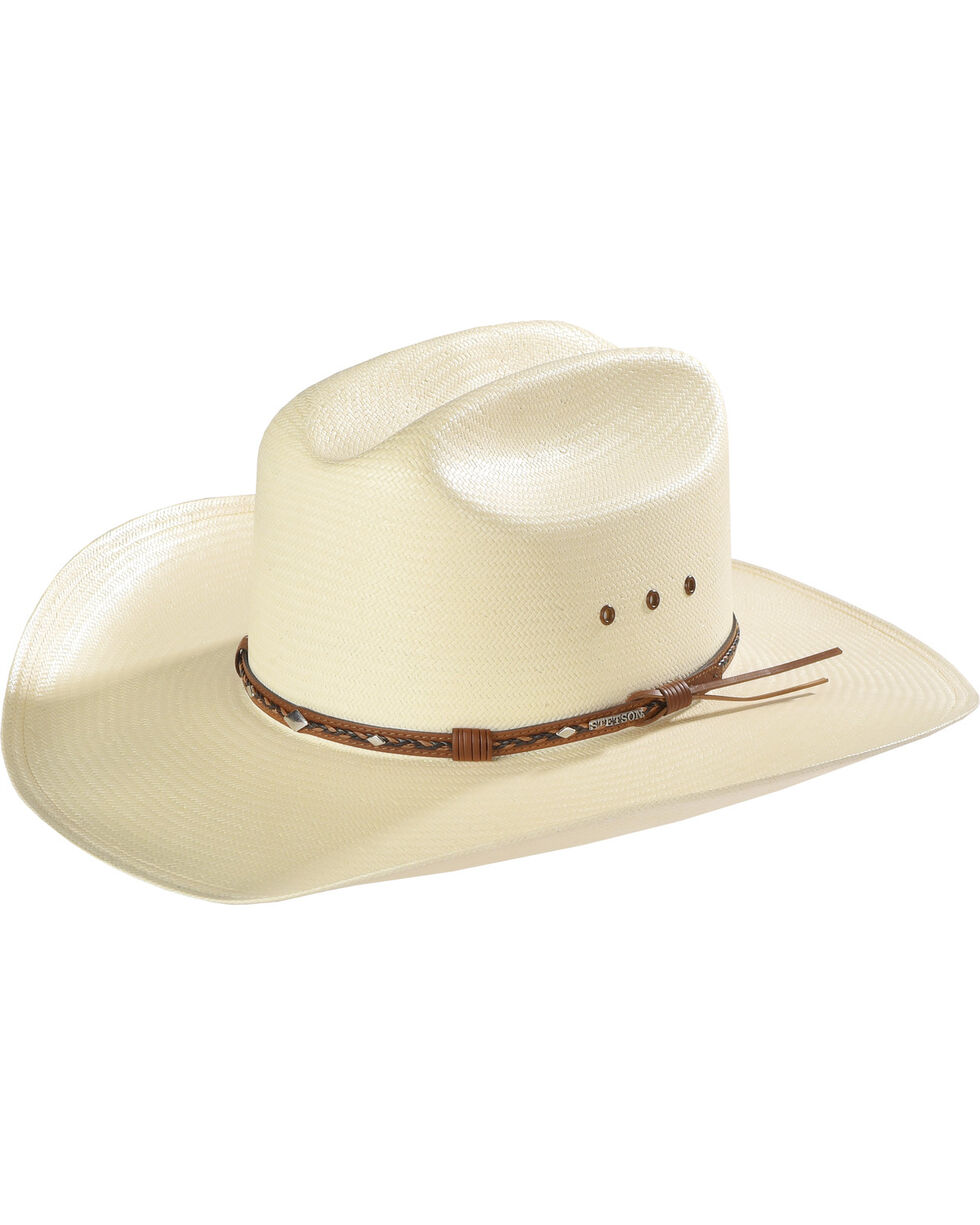 Stetson Hats Men's Ocala Straw Hat, Natural, hi-res