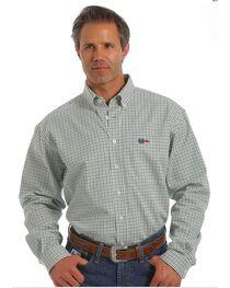 Cinch Men's Flame Resistant Plaid Long Sleeve Work Shirt, , hi-res