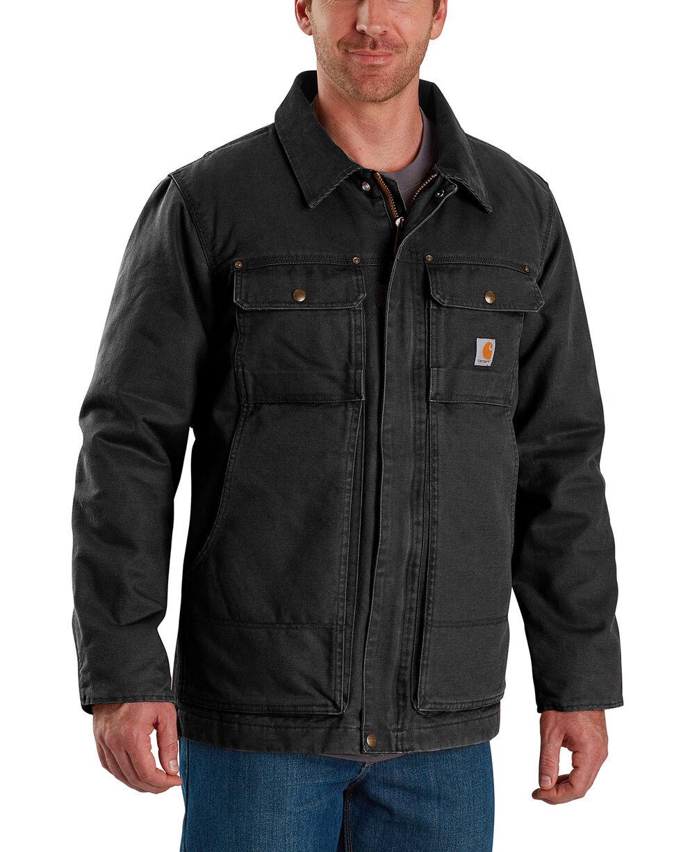 Carhartt Men's Full Swing Traditional Coat , Black, hi-res