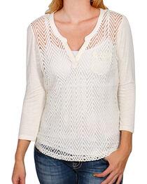 Ariat Women's - Sleeve Cheryl Top, , hi-res