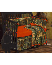 HiEnd Accents Realtree Camo Crib Set, , hi-res