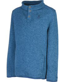 Browning Boys' Blue Gilson Sweater, , hi-res