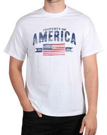 Fencepost Men's Property of America T-Shirt, , hi-res