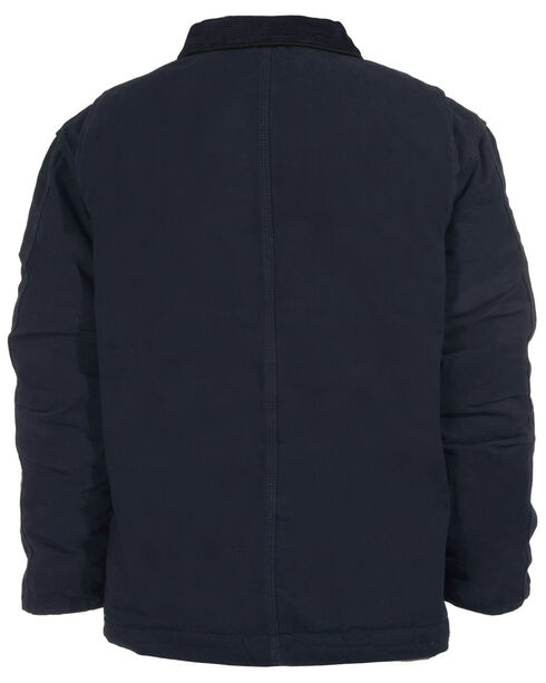 Berne Original Washed Chore Coat - Tall 3XT and Tall 4XT, Midnight, hi-res
