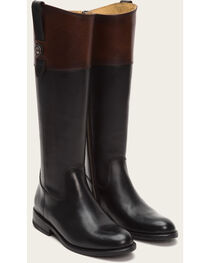 Frye Women's Mulit-Black Jayden Button Tall Boots - Round Toe , , hi-res