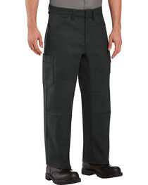 Red Kap Men's Black Performance Shop Pants , , hi-res