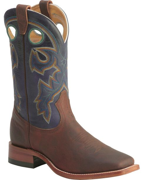 "Boulet Men's 12"" Square Toe Oiled Taurus Counter Boots, Chestnut, hi-res"