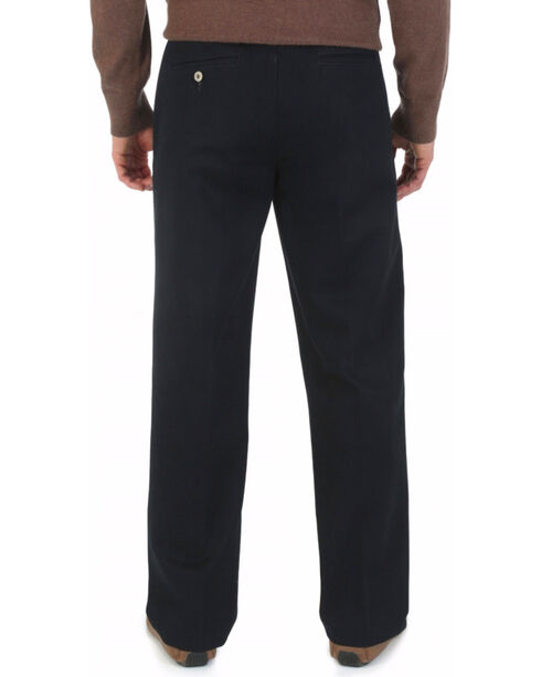 Wrangler Men's Rugged Wear Cotton Casual Pants, Black, hi-res