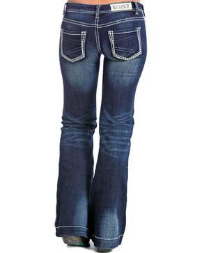 Rock & Roll Denim Women's Trouser Jeans, Dark Blue, hi-res
