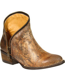 Corral Women's Zipper Ankle Boots - Medium Toe , , hi-res