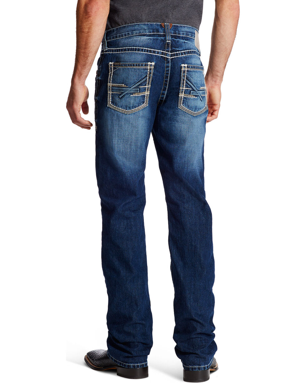 Ariat Men's M5 Ryker Slim Straight Leg Jeans, Indigo, hi-res