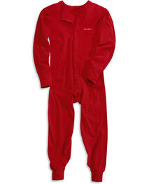 Carhartt Men's Mid-weight Cotton Union Suit, , hi-res