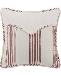 "HiEnd Accents Red Stripe Envelope Pillow - 18"" x 18"", , hi-res"