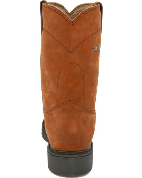 Justin Men's Pull-On Waterproof Work Boots, Aged Bark, hi-res