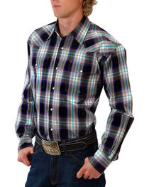 Roper Men's Amarillo Purple Haze Long Sleeve Shirt, , hi-res