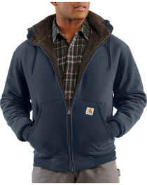 Carhartt Men's Sherpa Lined Sweatshirt, , hi-res