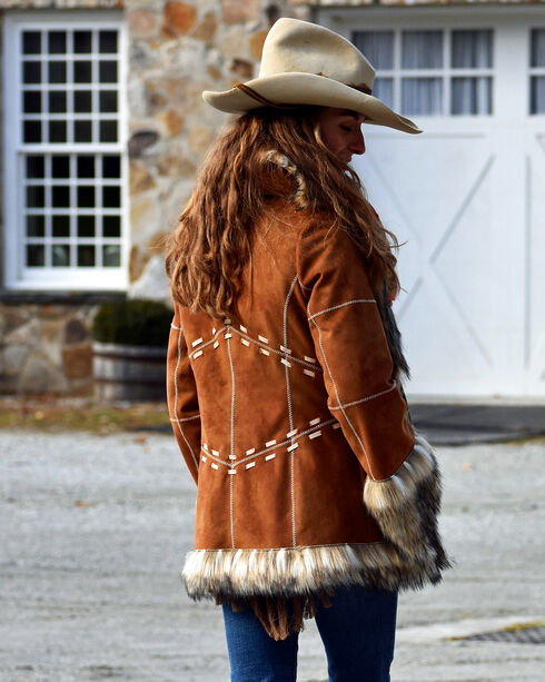 Tasha Polizzi Women's Tan Little Nell Jacket , Tan, hi-res