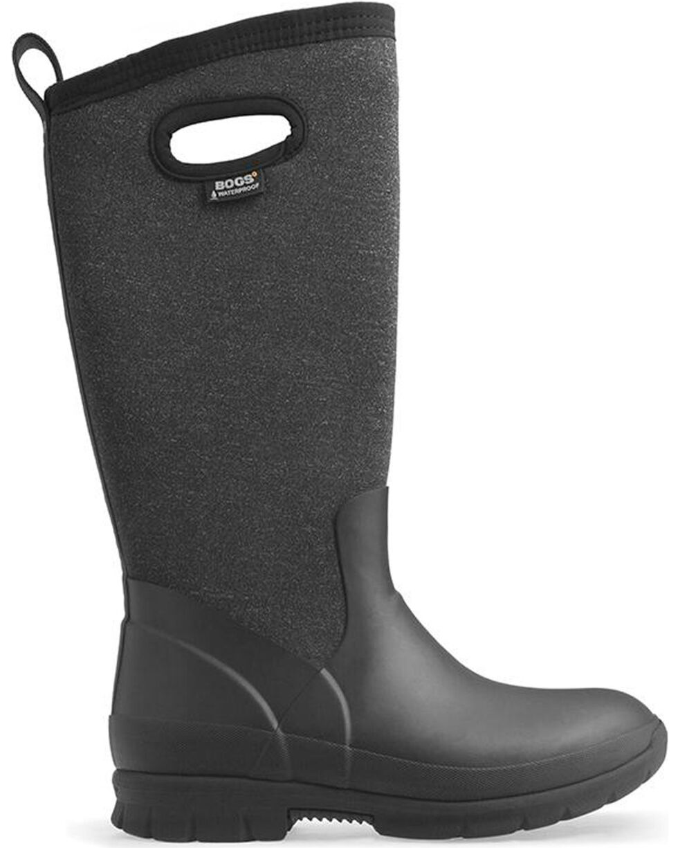 Bogs Women's Black Crandall Waterproof Insulated Boots , , hi-res