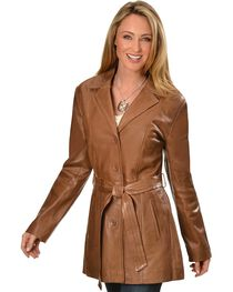 Scully Women's Lamb Knee-Length Coat, , hi-res