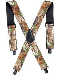 American Worker Men's Camo Suspenders, , hi-res