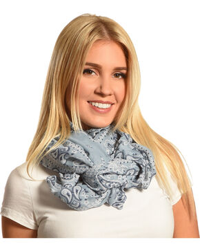 Tasha Polizzi Women's Lonesome Dove Scarf , Light Blue, hi-res