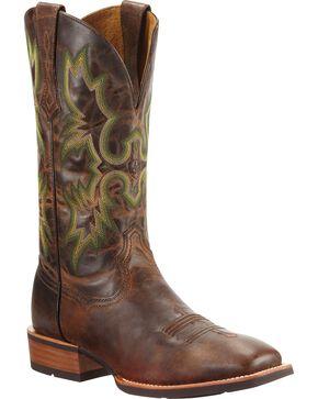 Ariat Men's Tombstone Western Boots, Chestnut, hi-res