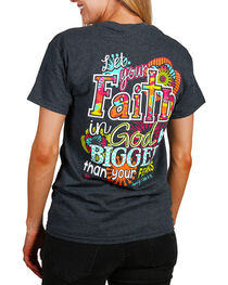 "Cherished Girl Women's ""Big Faith"" Graphic Tee, , hi-res"