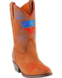 Gameday Boots Girls' Southern Methodist University Western Boots - Medium Toe, , hi-res