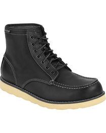 Eastland Men's Black Lumber Up Boots , , hi-res