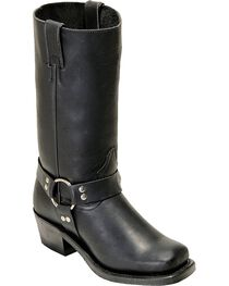 Boulet Women's Motorcycle Harness Boots, Black, hi-res